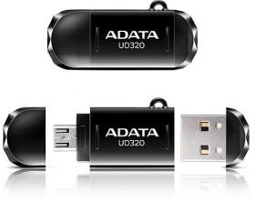 ADATA DashDrive Durable UD320 64GB, USB-A 2.0/USB 2.0 Micro-B (AUD320-64G-RBK)
