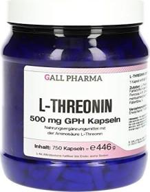 L-Threonin 500mg GPH Kapseln, 750 Stück