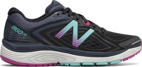 New Balance 860v8 black/poisonberry/thunder (ladies) (W860BP8)