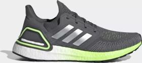 adidas Ultra Boost 20 grey five/silver metallic/signal green (Herren) (FV8317)