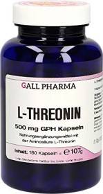 L-Threonin 500mg GPH Kapseln, 180 Stück