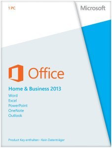 Microsoft: Office 2013 Home and Business, PKC (deutsch) (PC) (T5D-01628)
