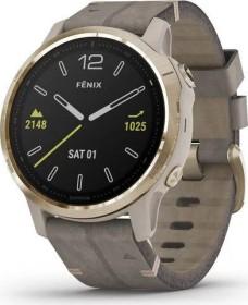 Garmin Fenix 6S sapphire light gold/shale grey leather (010-02159-40)