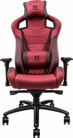 Thermaltake X Fit Real Leather Gamingstuhl, rot (GC-XFR-BRLFDL-01)