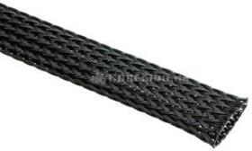 "Techflex Flexo PET 1/2""/12.7mm black, braided sleeve (PTN0.50-BK)"