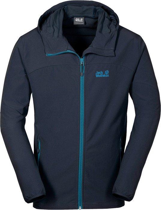 premium selection 75e3a 11677 Jack Wolfskin Turbulence Softshell Jacke night blue (Herren) ab € 75,90