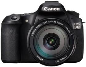 Canon EOS 60D schwarz mit Objektiv EF-S 18-200mm 3.5-5.6 IS (4460B223)