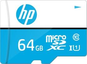 PNY HP mi210/mx310 R100/W30 microSDXC 64GB Kit, UHS-I U1, Class 10 (HFUD064-1U1-B)