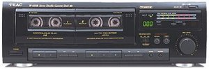 TEAC W-600R black (double)