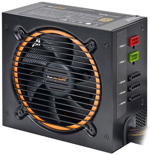 be quiet! Pure Power L8-CM 530W ATX 2.3 (L8-CM-530W/BN181)