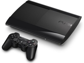 Sony PlayStation 3 Super Slim - 12GB Sly Cooper: Jagd durch die Zeit Bundle schwarz