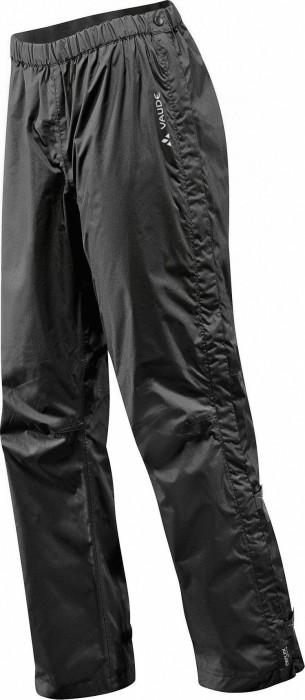 VauDe fluid Full Zip S/S pant long black (ladies) (05392-010)