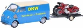Schuco DKW Schnelllaster DKW mit Motorradanhänger und DKW RT 125, DKW RT 350 (450238800)