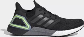 adidas Ultra Boost 20 core black/night metallic/signal green (Herren) (EG0707)