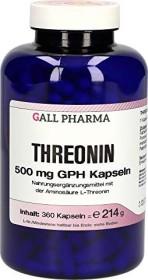 Threonin 500mg GPH Kapseln, 360 Stück
