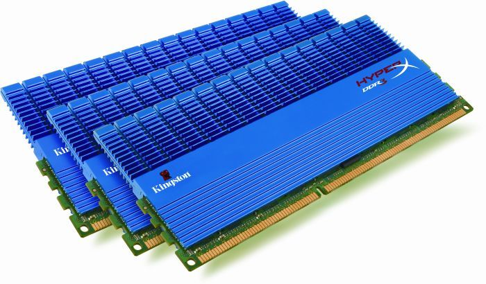 Kingston HyperX T1 XMP DIMM Kit 3GB, DDR3-2000, CL8-8-8 (KHX2000C8D3T1K3/3GX)