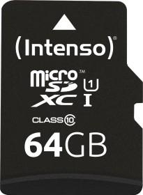 Intenso Professional R90 microSDXC 64GB Kit, UHS-I U1, Class 10 (3433490)