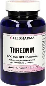 Threonin 500mg GPH Kapseln, 180 Stück
