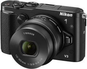 Nikon 1 V3 schwarz mit Objektiv VR 10-30mm 3.5-5.6 PD-Zoom (VVA231K001)