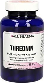 Threonin 500mg GPH Kapseln, 120 Stück