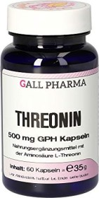 Threonin 500mg GPH Kapseln, 60 Stück