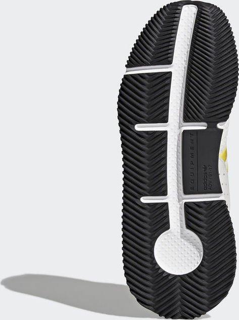 wholesale dealer e54fd f73bf adidas EQT Cushion ADV ftwr whiteeqt yellowsilver metallic (men) (CQ2375)