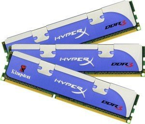 Kingston HyperX XMP DIMM Kit 3GB, DDR3-1800, CL9-9-9-27 (KHX1800C9D3K3/3GX)