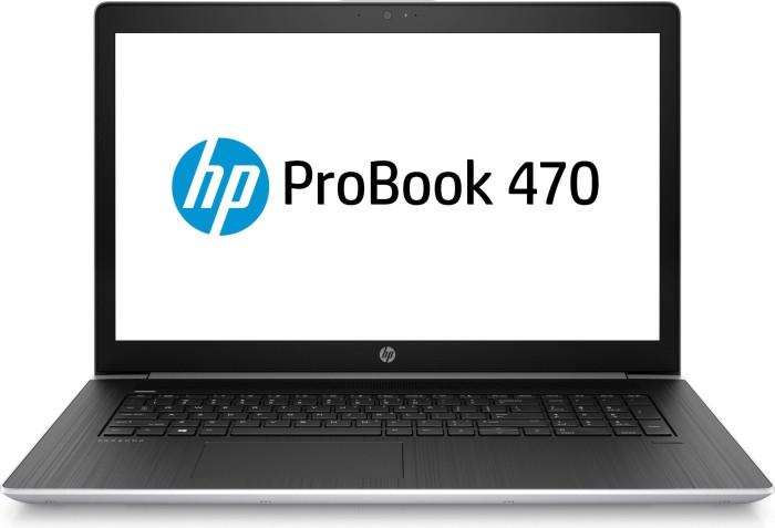 HP ProBook 470 G5 silber, Core i5-8250U, 8GB RAM, 1TB HDD, 256GB SSD (5TK04EA#ABD)