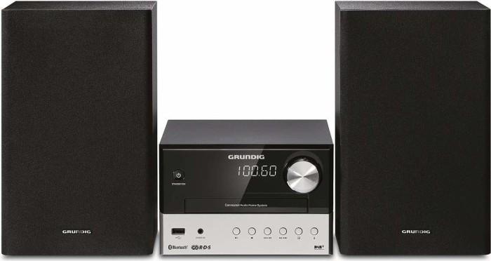 Grundig CMS 3000 BT DAB+ black/silver (GLR7640)