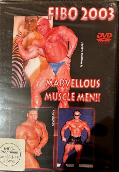 FIBO 2003 - Marvellous Muscle Men -- via Amazon Partnerprogramm