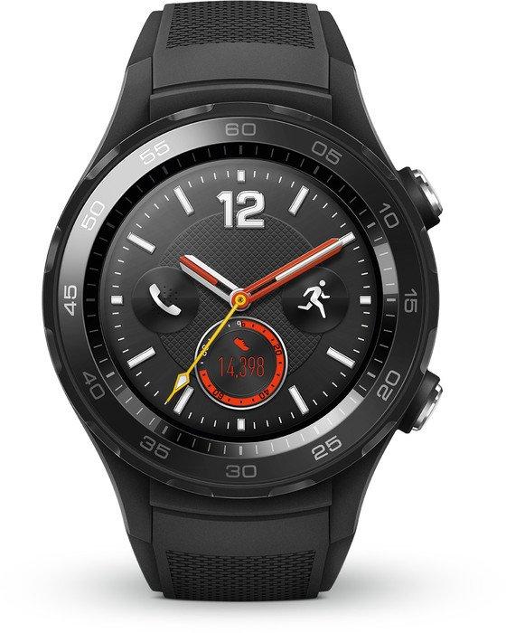 Huawei Watch 2 mit Sportarmband schwarz (55021679)