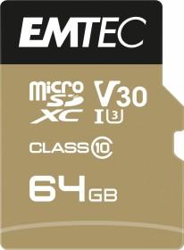 Emtec SpeedIN PRO R95/W85 microSDXC 64GB Kit, UHS-I U3, A1, Class 10 (ECMSDM64GXC10SP)