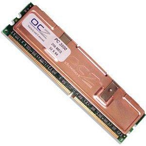 OCZ DIMM 256MB, DDR-433, CL2-3-3-7-1T