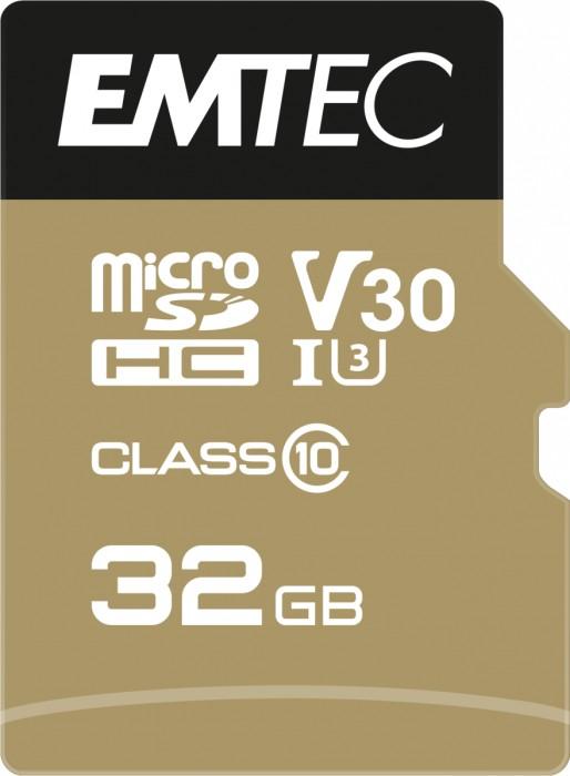 Emtec SpeedIN PRO R95/W85 microSDHC 32GB Kit, UHS-I U3, A1, Class 10 (ECMSDM32GHC10SP)