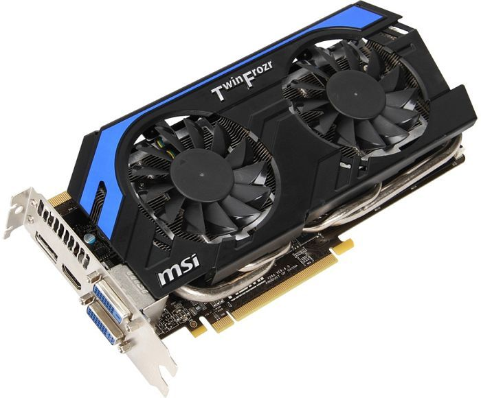 MSI N660Ti-PE-2GD5/OC Twin Frozr IV Power Edition OC, GeForce GTX 660 Ti, 2GB GDDR5, 2x DVI, HDMI, DisplayPort (V284-036R)