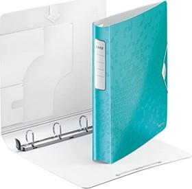 Leitz Active WOW SoftClick Ringbuch, eisblau (42400051)