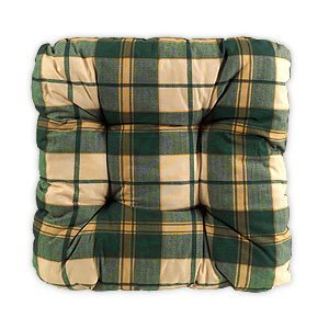 Kika Softkissen green-checkered