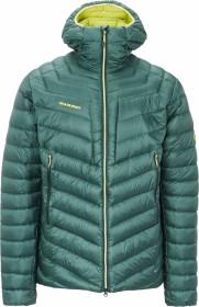 Mammut Broad peak IN Hooded Jacket dark teal/canary (men) (1013-00260-40011)