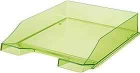 HAN Klassik Briefablage A4 transparent grün (1026-X-27)