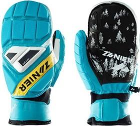 Zanier Gate Killer Skihandschuhe türkis/gelb (Junior) (12238-4550)
