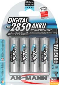 Ansmann Digital NiMH Akku Mignon AA Typ 2850, 4er-Pack (5035092)