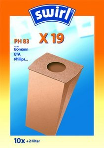 Swirl X19/PH83 Classic vacuum cleaner bag