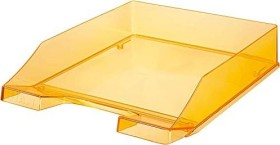 HAN Klassik Briefablage A4 transparent orange (1026-X-28)