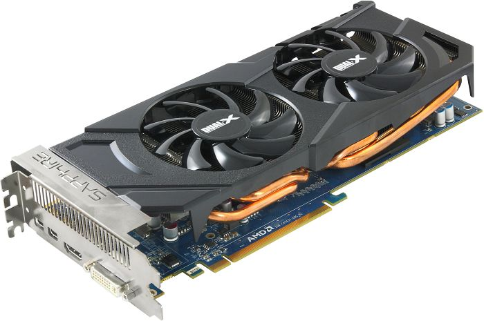 Sapphire Radeon HD 7870 XT Boost, 2GB GDDR5, DVI, HDMI, 2x Mini DisplayPort, lite retail (11199-20-20G)