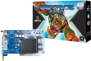 XFX GeForce 6200, 256MB DDR, VGA, DVI, TV-out (PVT44AWA)