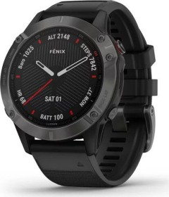Garmin Fenix 6 Saphir carbon grey dlc/black (010-02158-11)