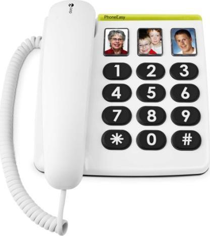 Doro PhoneEasy 331ph biały (380002) -- via Amazon Partnerprogramm