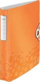 Leitz Active WOW SoftClick Ringbuch, orange (42400044)