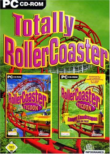 Totally RollerCoaster: Rollercoaster Tycoon + Add On Loopy Landscapes (deutsch) (PC) -- via Amazon Partnerprogramm