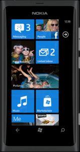 Nokia Lumia 800 mit Branding